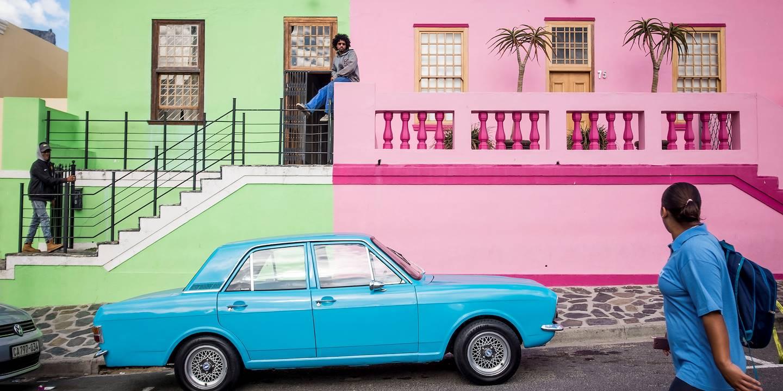 Dans les rues colorées de Bo-Kaap, le quartier malais du Cap - Le Cap - Afrique du Sud