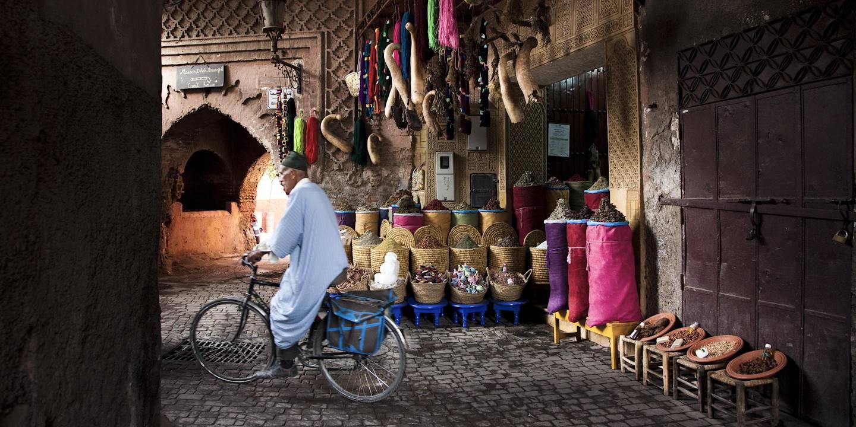 Souk de Marrakech - Maroc