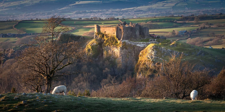 Château de Carreg Cennen -  Carmarthenshire - Pays de Galles