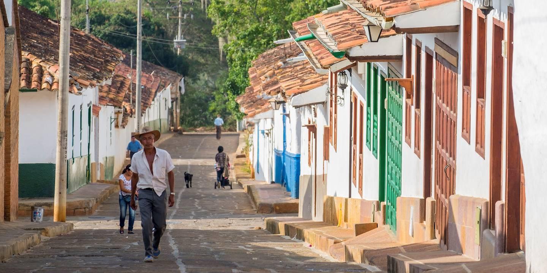 Ruelles de Barichara - Département de Santander - Colombie