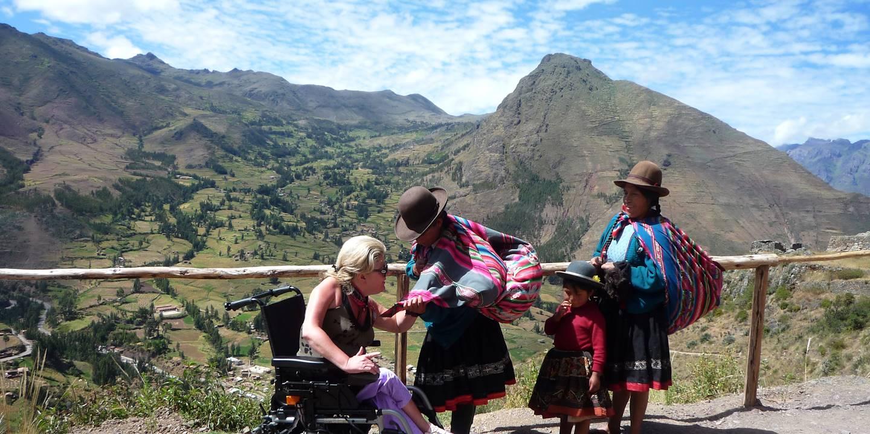 Marie-Odile au Pérou