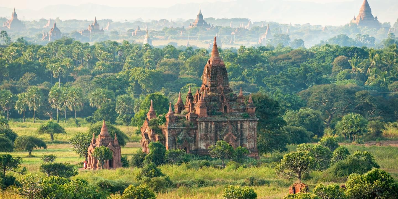 Site archéologique bouddhique de Bagan - Birmanie