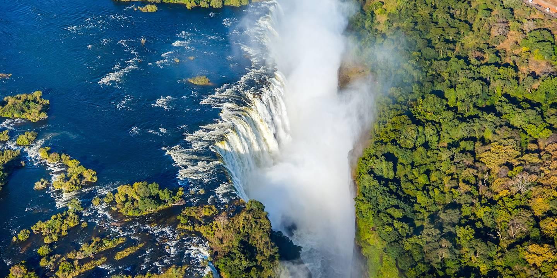 Les Chutes Victoria classées patrimoine mondial de l'UNESCO - Zimbabwe