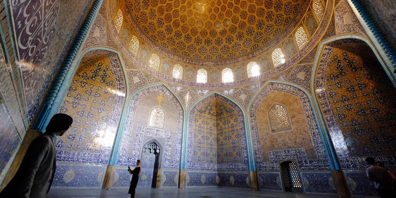 Mosquée du Cheikh Lotfallah - Ispahan - Province d'Ispahan - Iran