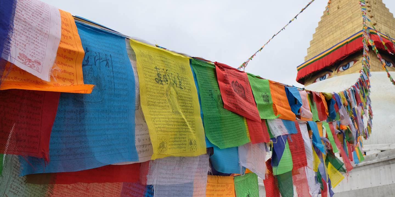Stupa de Bodnath - Région de Katmandou - Népal