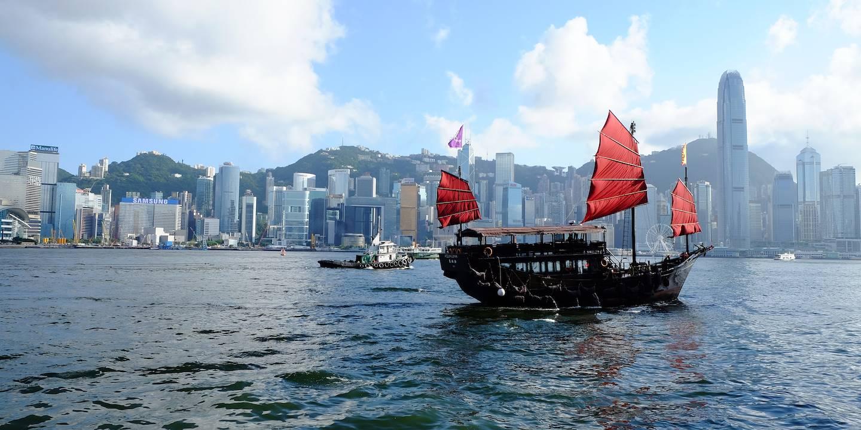 Croisière sur la baie de Hong Kong - Chine