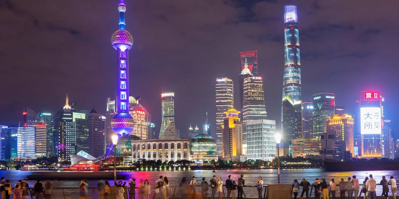Quartier de Pudong - Shanghai - Chine