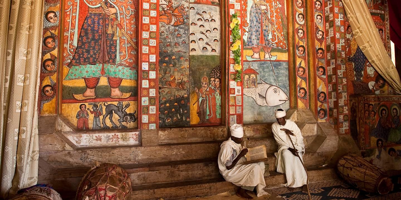 Le monastère Narga Selassié sur le lac Tana - Ethiopie