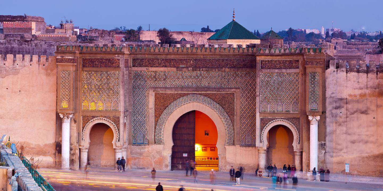 Porte Bab Mansour - Meknès  - Maroc