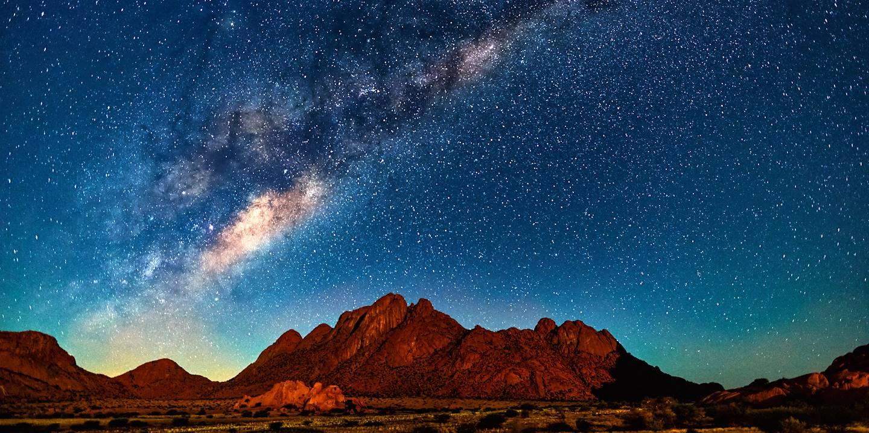 Nuit étoilée dans le Damaraland - Namibie