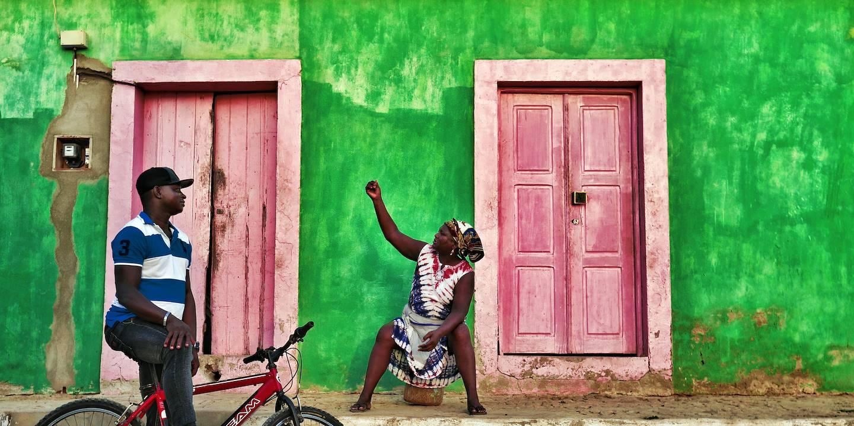 Façade verte - Maio - Cap Vert