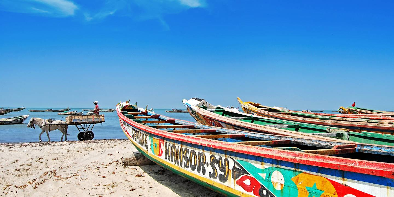 Pirogues de pêche - Sénégal