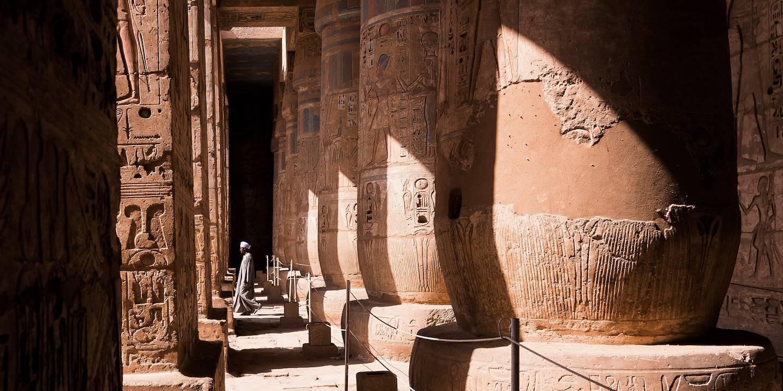 La cité Médinet Habou - Louxor - Égypte