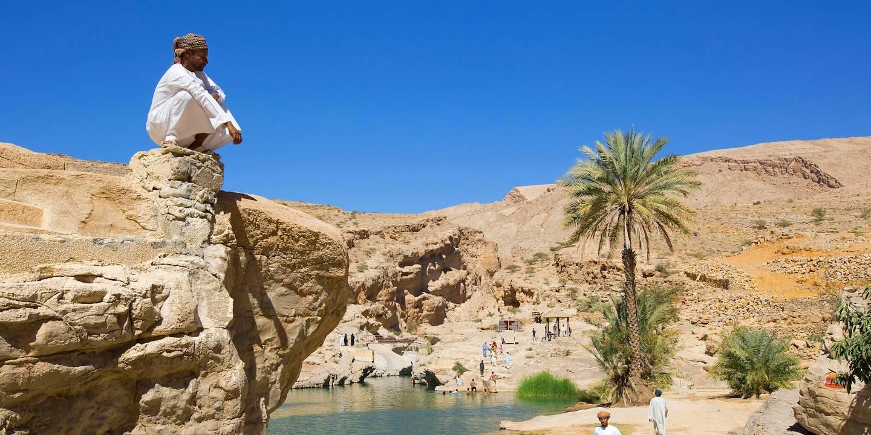 Wadi Bani Khalid - Région d'Ash Sharqiyyah - Sultanat d'Oman