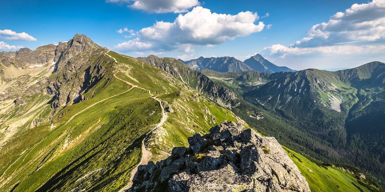 Vue du Kasprowy Wierch - Massif des Tatras - Pologne