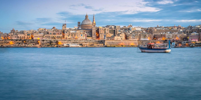 Vue de Valetta (la Valette) - Malte