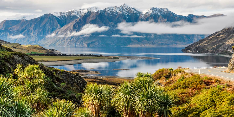 Lac Wanaka - Otago - Nouvelle-Zélande