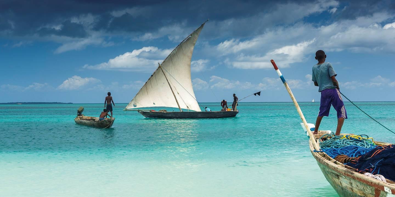 Pêcheurs à Zanzibar - Tanzanie