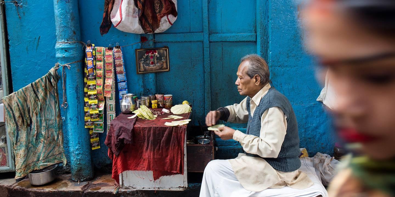 Marchand de bétel - Delhi - Inde