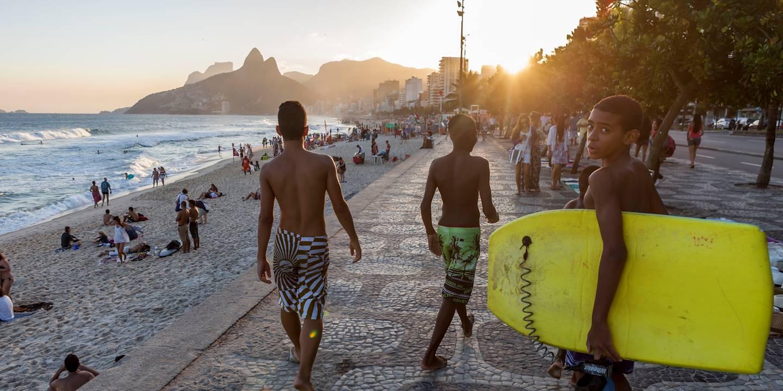 Quartier d'Ipanema - Rio de Janeiro - Brésil