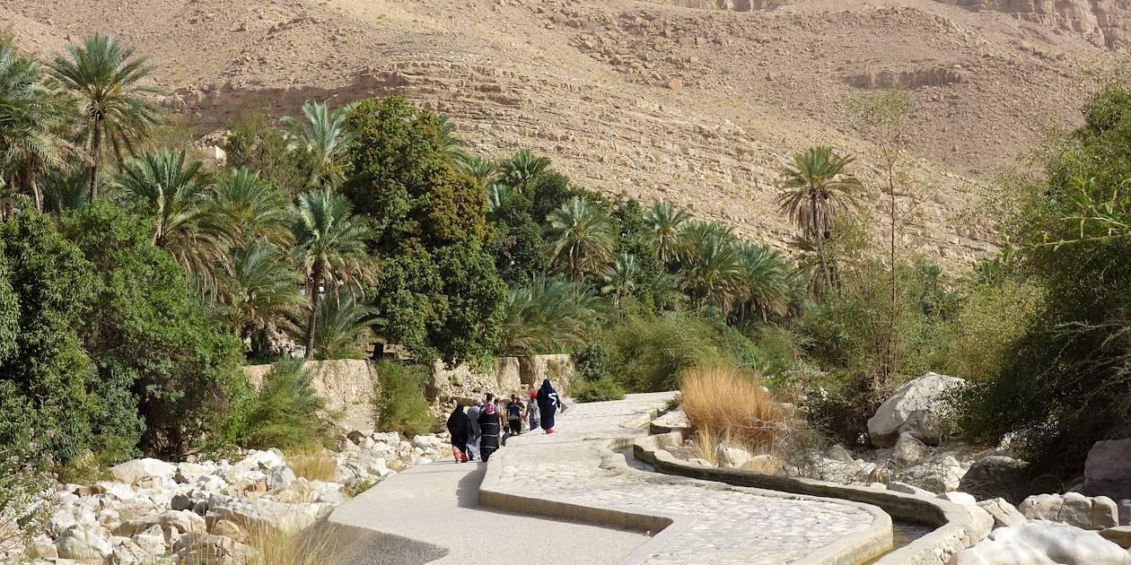 Wadi Bani Khalid - Désert de Wahiba - Région de Ash Sharqiyyah - Oman