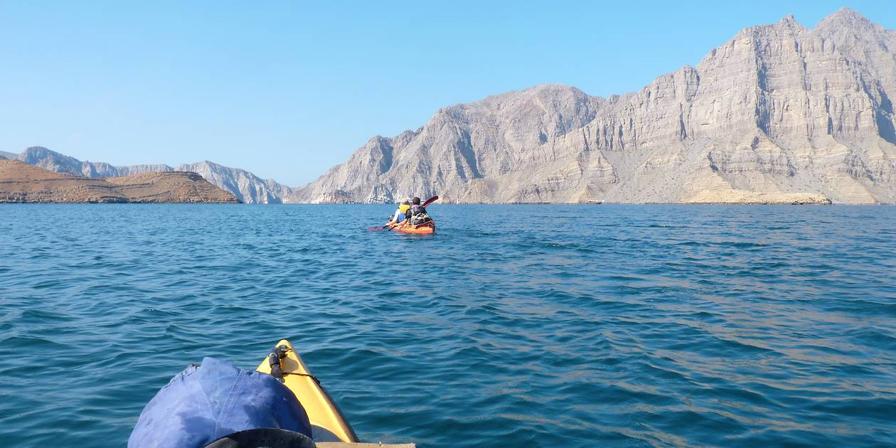 Kayak dans les fjords - Musandam - Oman