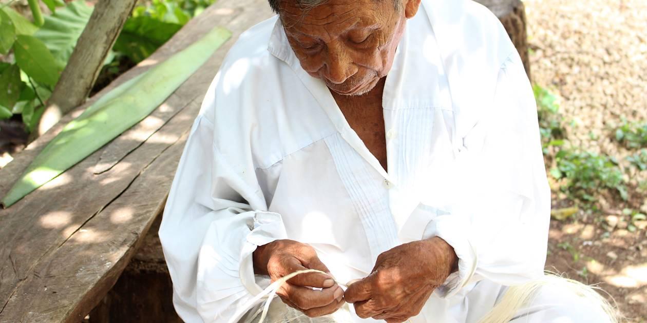 Au sein de la communauté Chunhuhub - Péninsule du Yucatan - Mexique