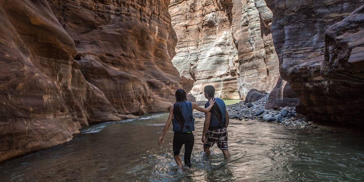 Canyoning - Wadi Mujib - Jordanie