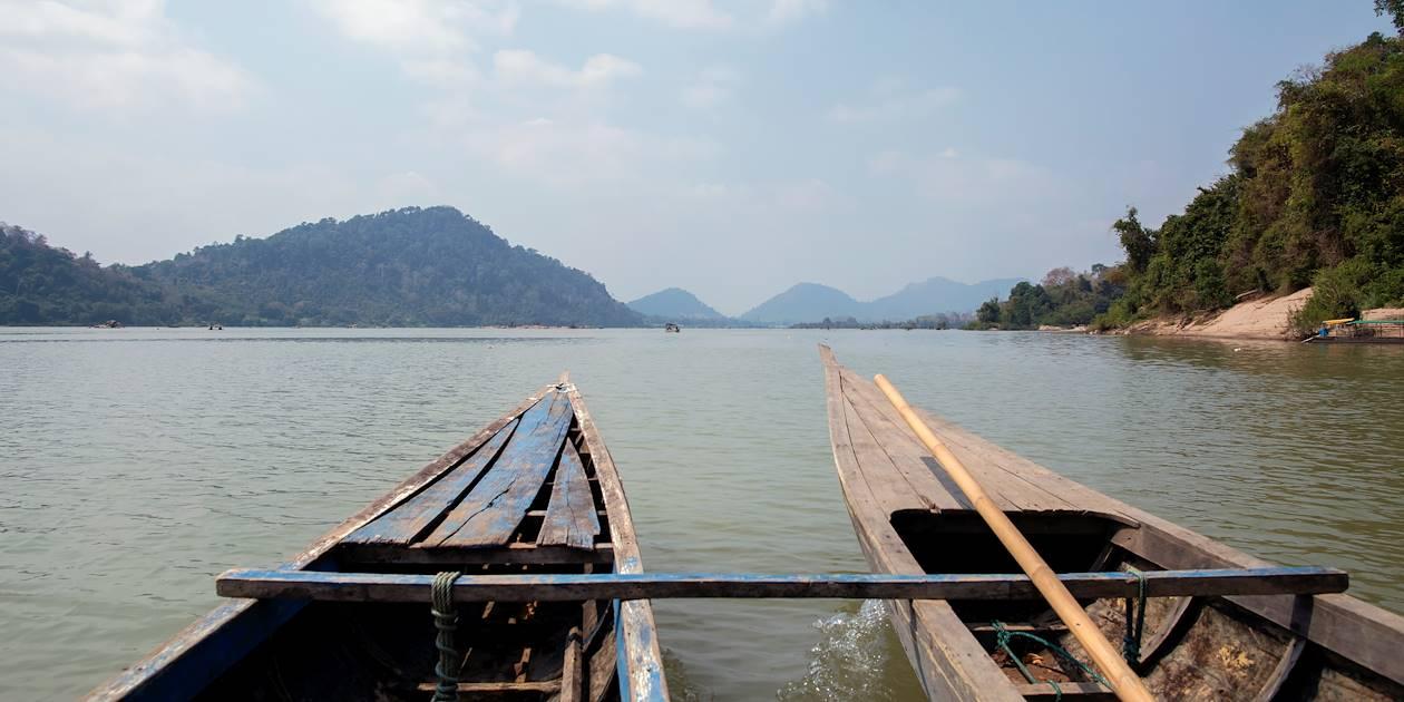 Balade sur le Mékong - Île de Khone - Laos