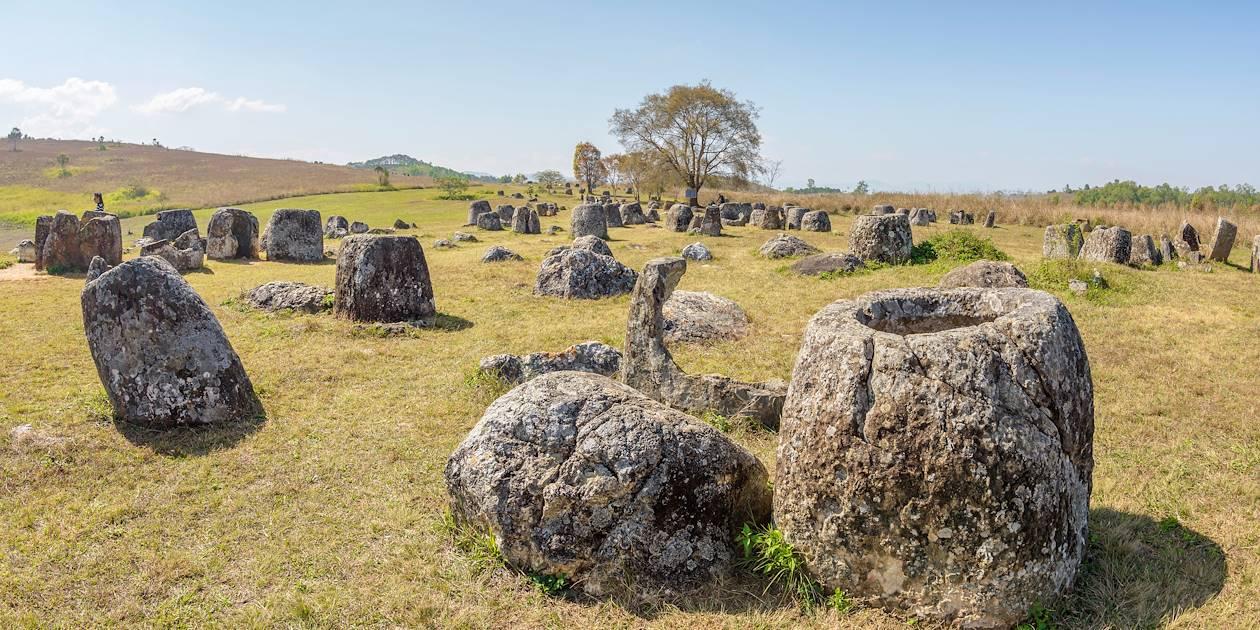Plaine de Jarres - Province de Xieng Khouang - Laos