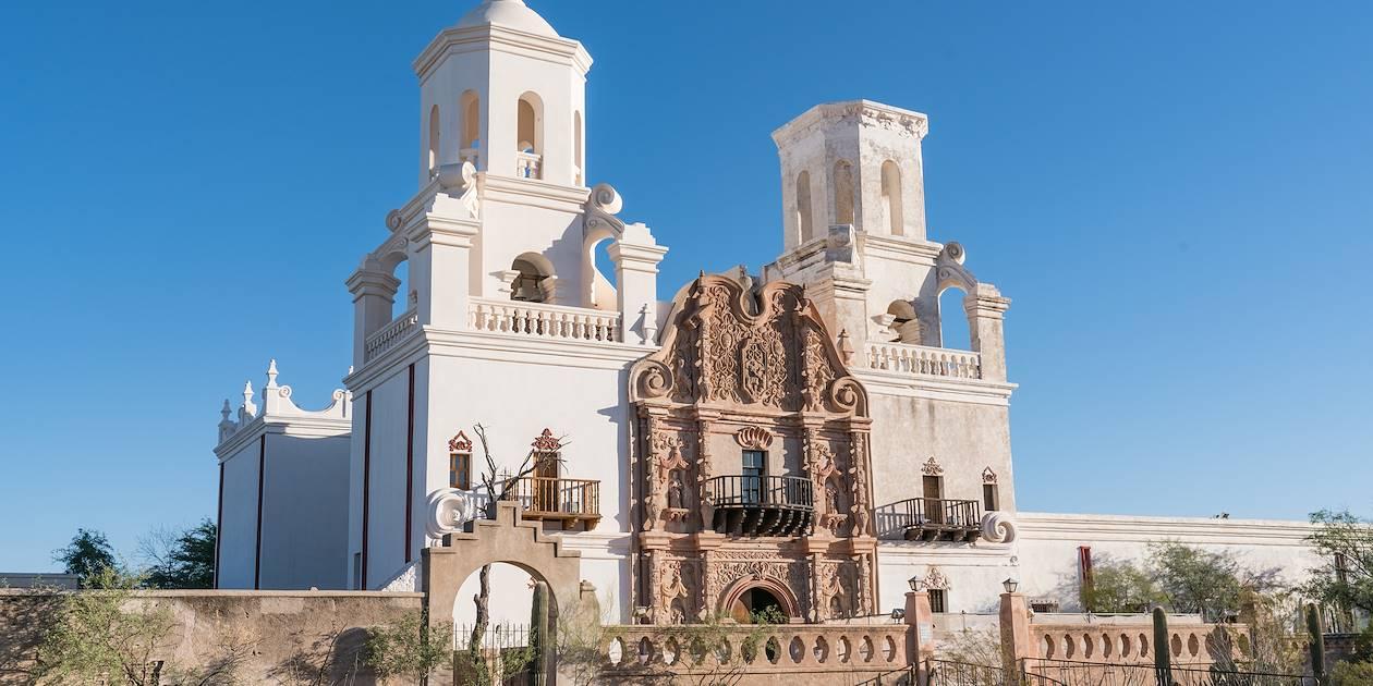 Mission San Xavier del Bac Tucson - Arizona - États-Unis