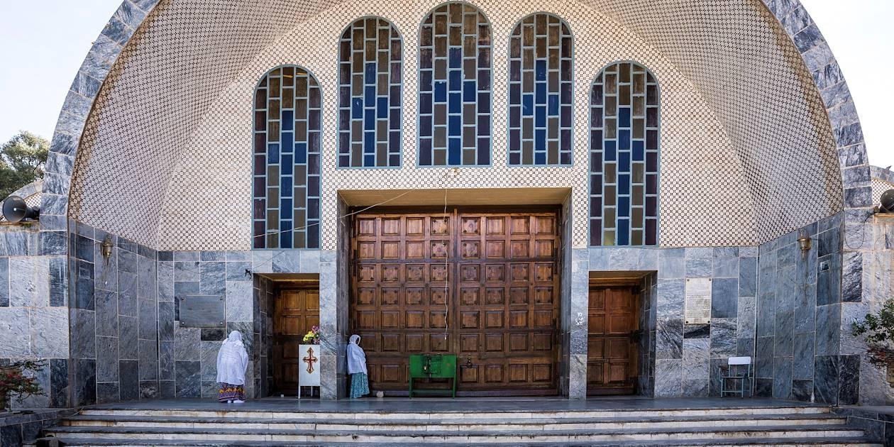 Église Sainte-Marie-de-Sion - Axoum - Ethiopie