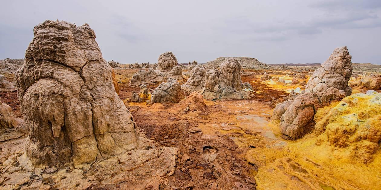 Dallol - Désert du Danakil - Ethiopie