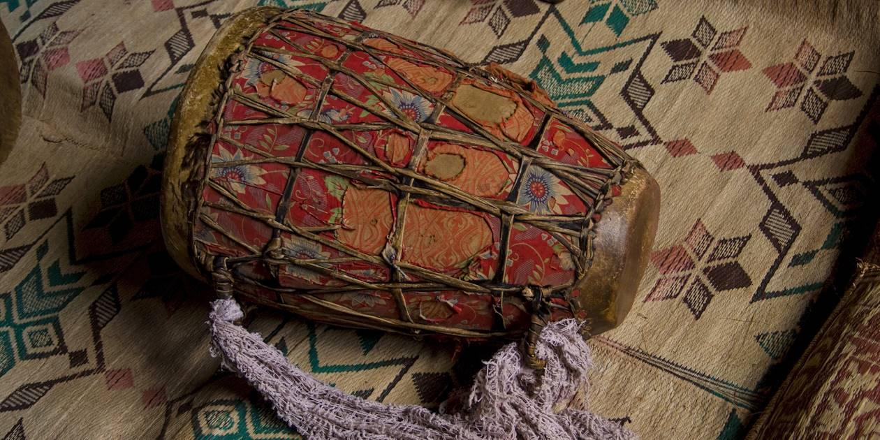 Instrument à percussion africain - Éthiopie