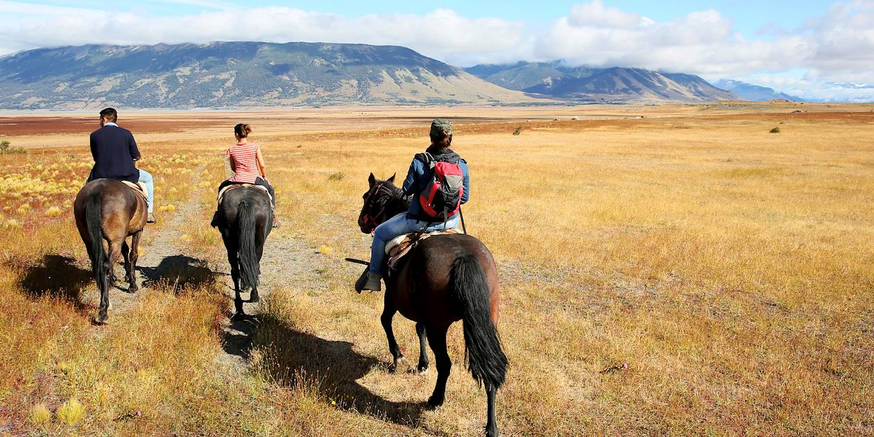 Balade à cheval - San Carlos de Bariloche - Patagonie - Argentine
