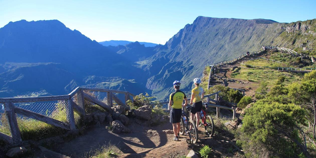 Le Maïdo à vélo - La Réunion