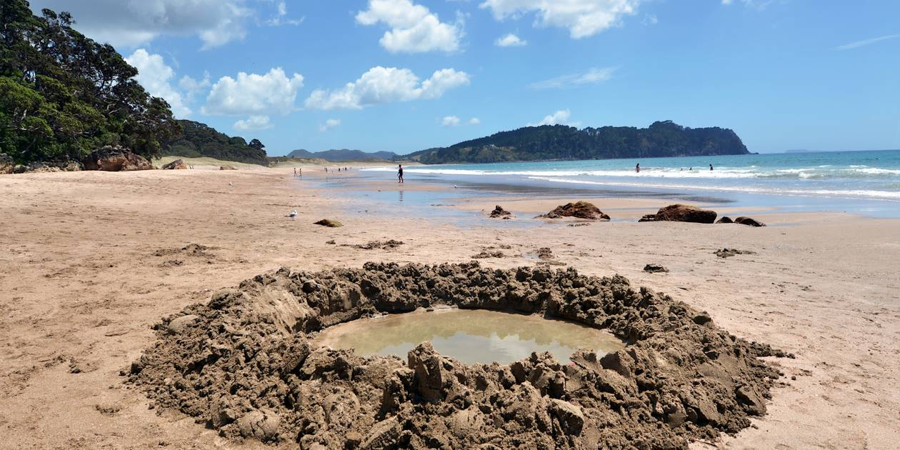 Hot Water Beach - Coromandel City - Nouvelle-Zélande