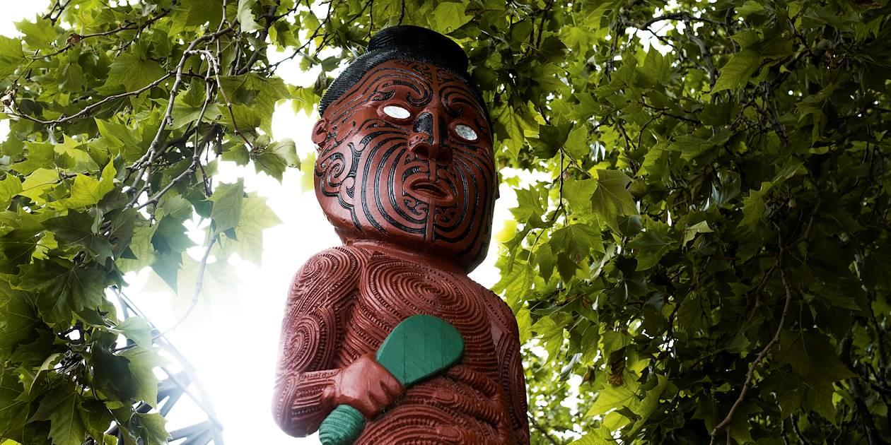 Musée Te Whare Taonga - Rotorua - Île du Nord - Nouvelle Zélande