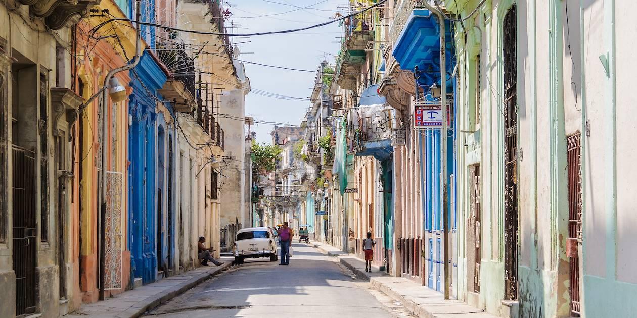 Ruelle colorée de la Habana Vieja - La Havane - Cuba