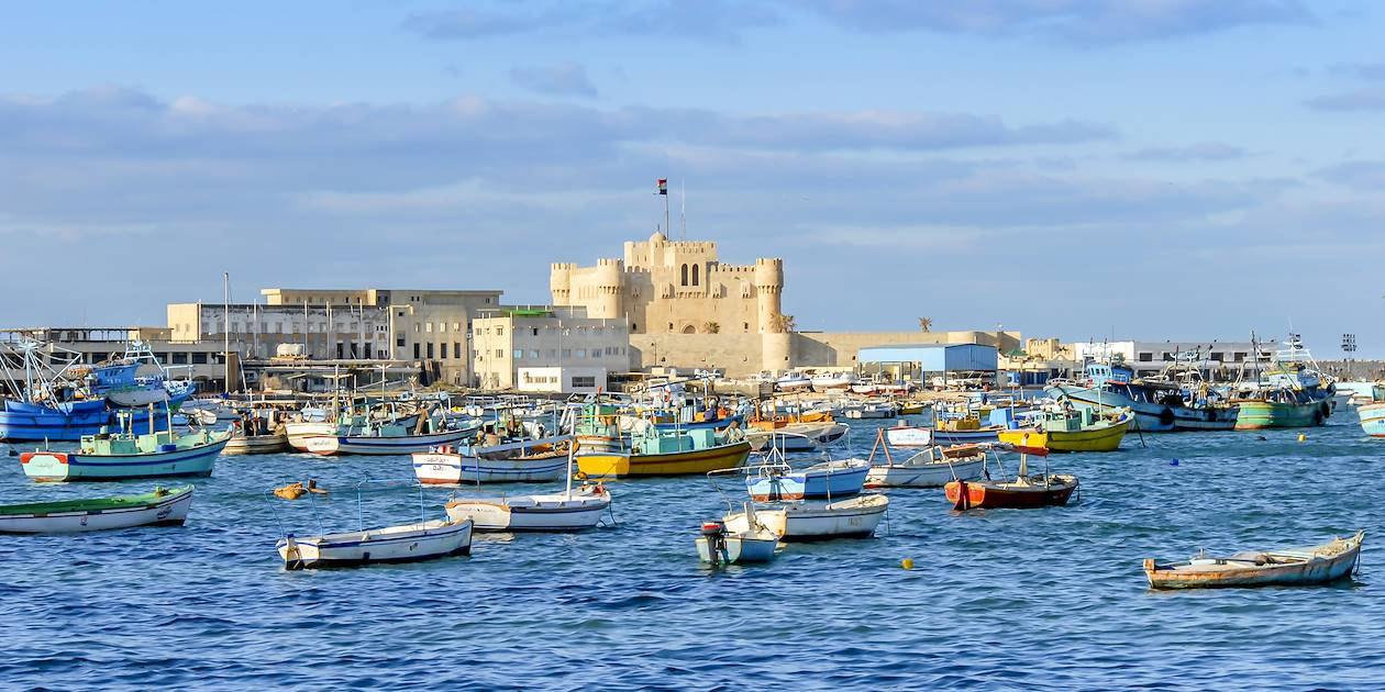 La citadelle de Qaitbay - Alexandrie - Égypte
