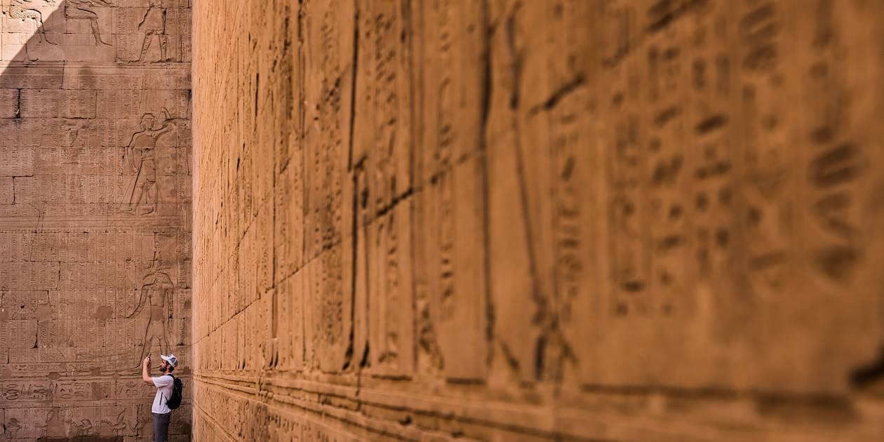 Le Temple d'Horus - Edfou - Égypte