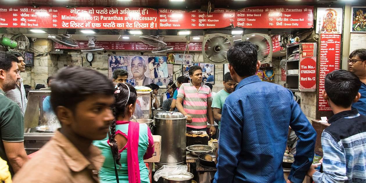 Balade gourmande dans les rues de Delhi - Inde