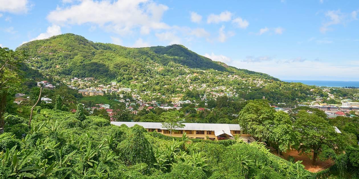 Vue générale - Victoria - Mahé - Seychelles