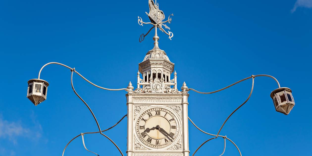 L'horloge de Victoria - Mahé- Seychelles