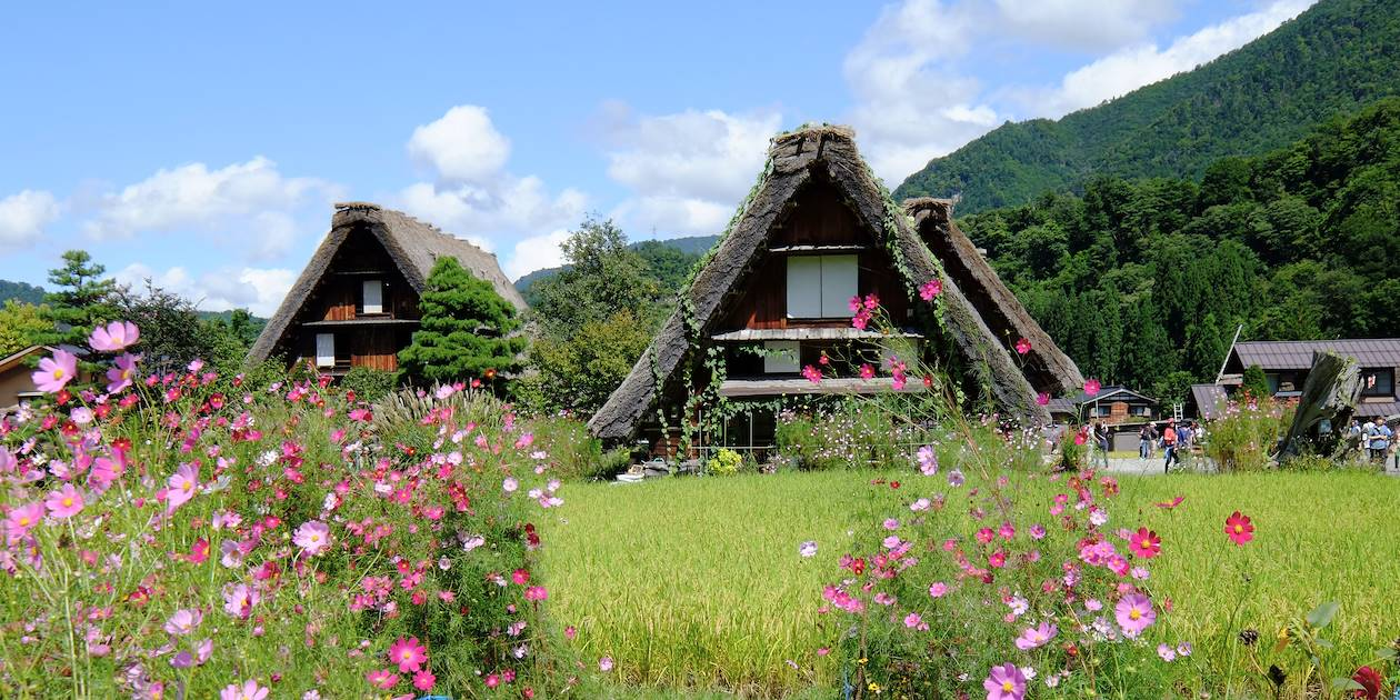 Village de Shirakawa-go - Région du Chubu - Ile de Honshu - Japon
