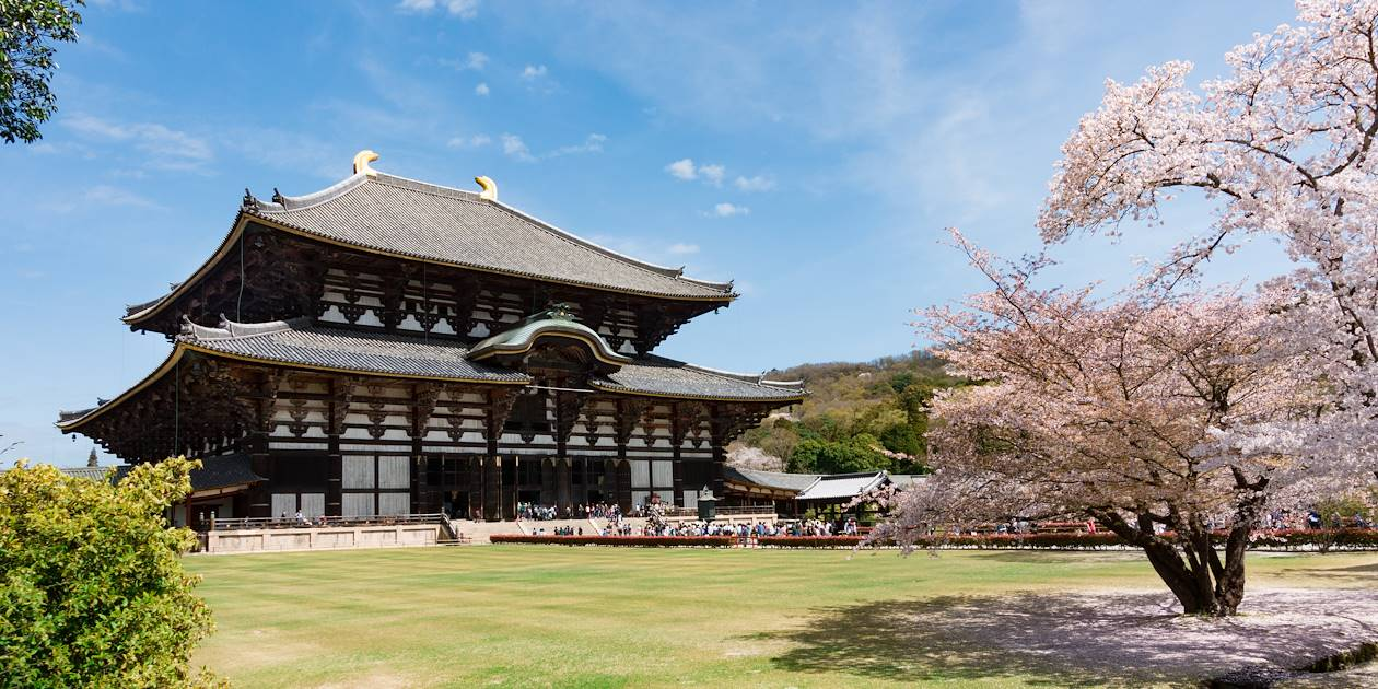 Temple de Todai-ji - Nara - Région du Kansai - Japon
