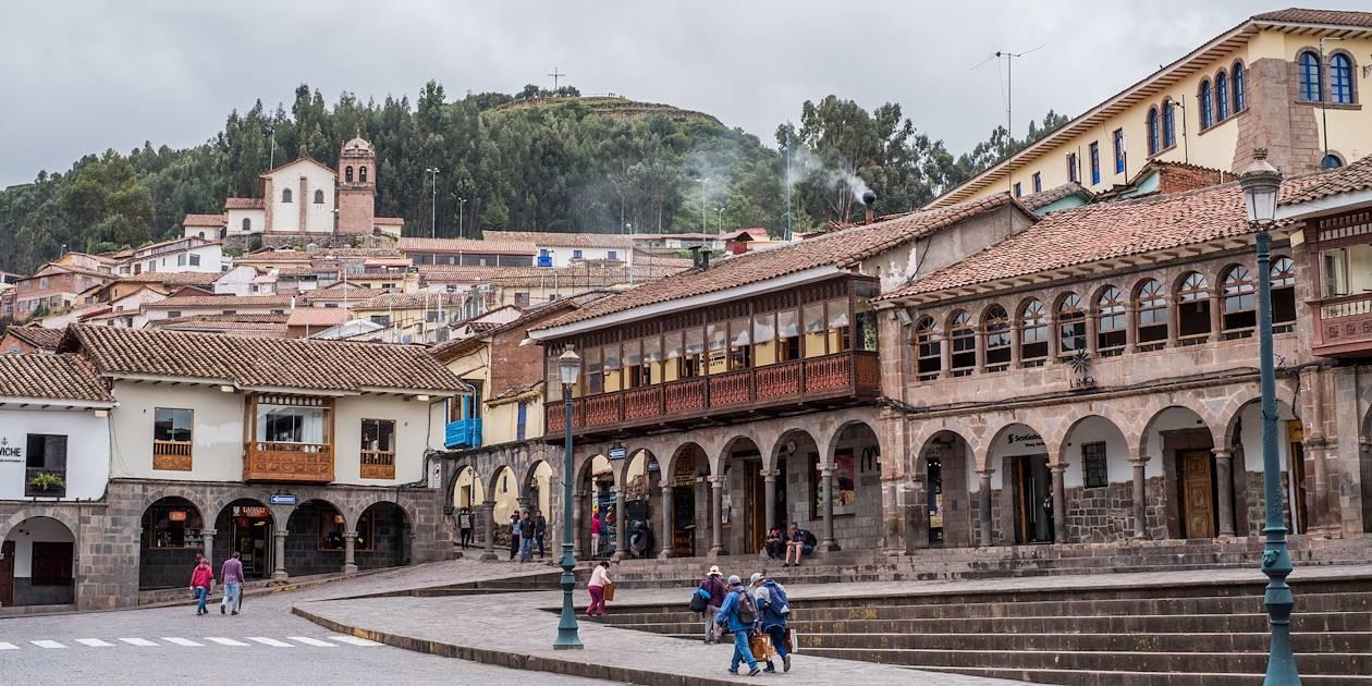 Sur une place de Cuzco - Pérou
