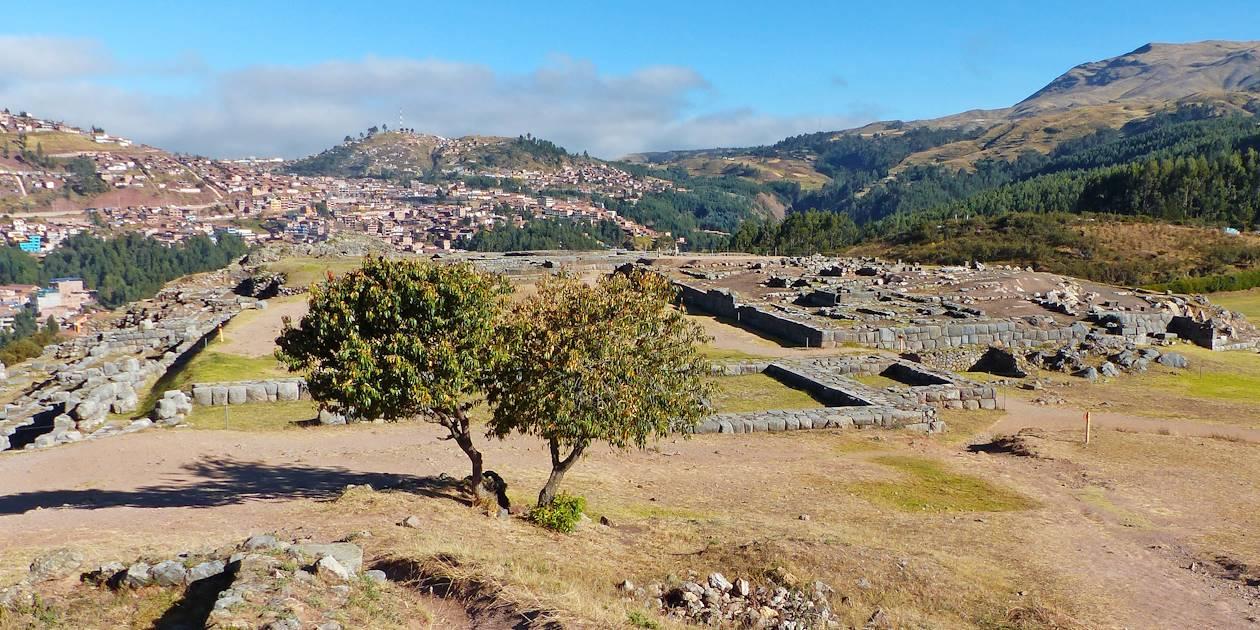 La forteresse inca de Sacsayhuaman à Cuzco - Province et région de Cuzco - Pérou