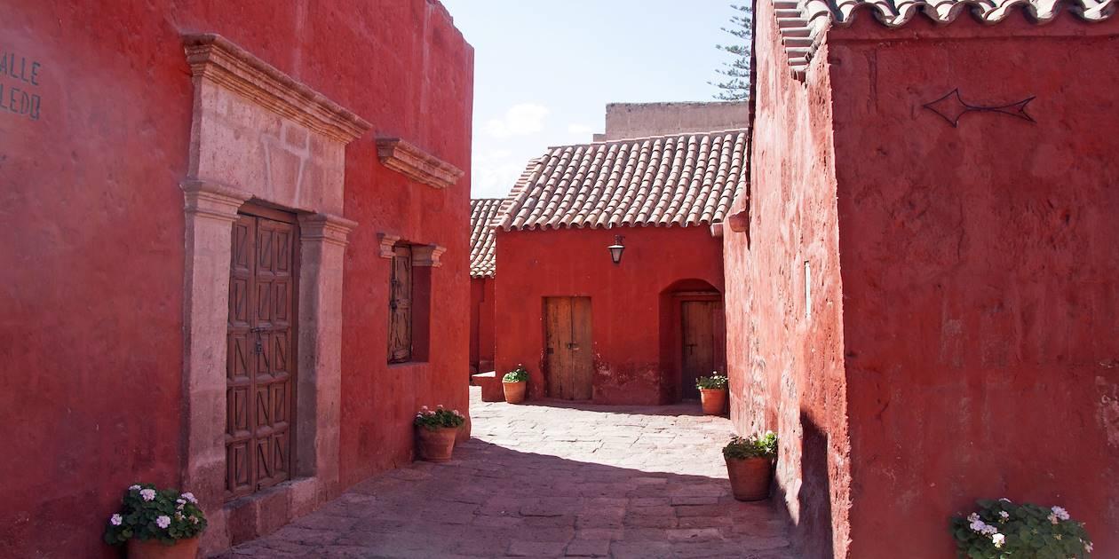 Couvent Santa Catalina à Arequipa - Province d'Arequipa - Pérou