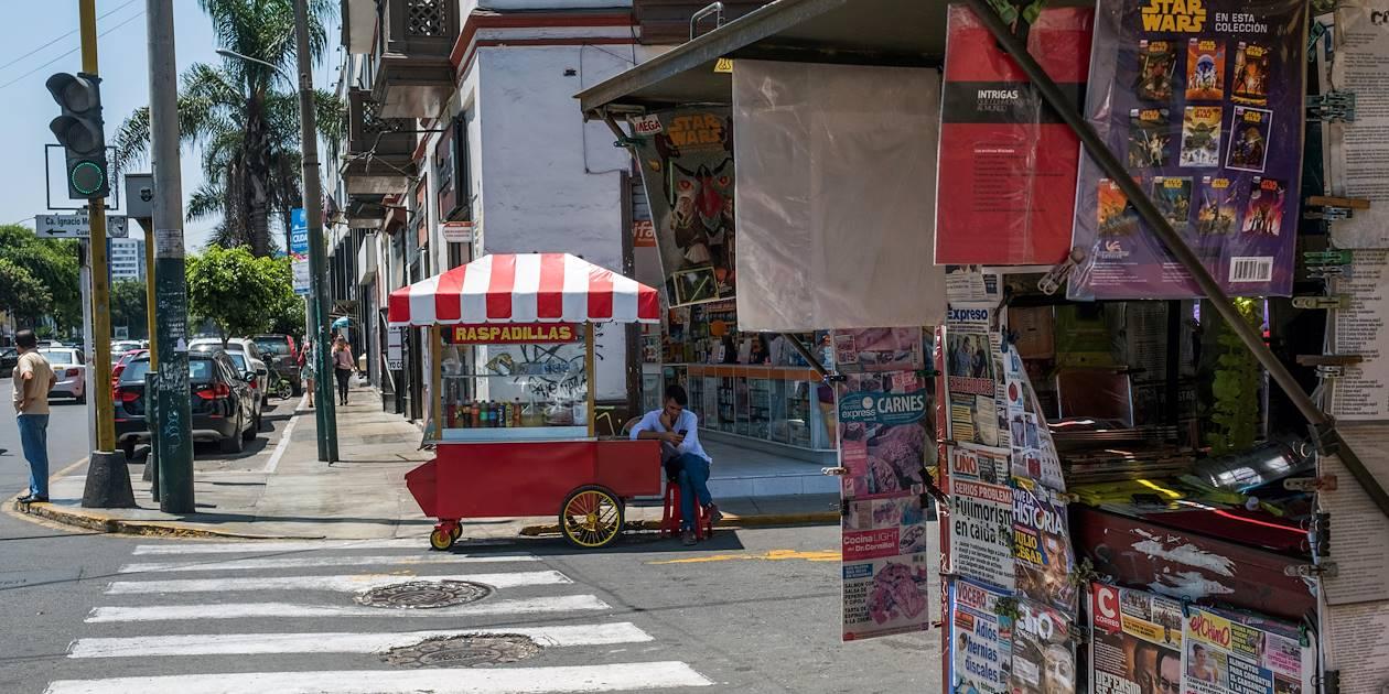 Dans les rues de Lima - Pérou